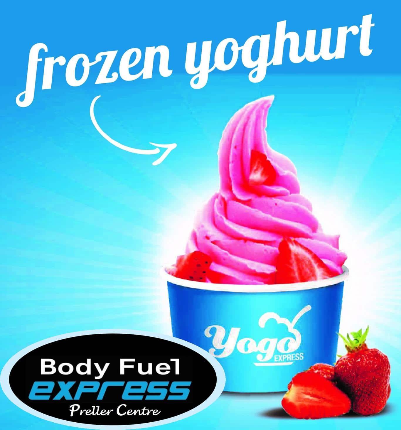 Body Fuel Frozen Yogurt