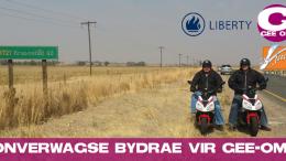 ONVERWAGSE BYDRAE VIR GEE-OM VANAF LIBERTY